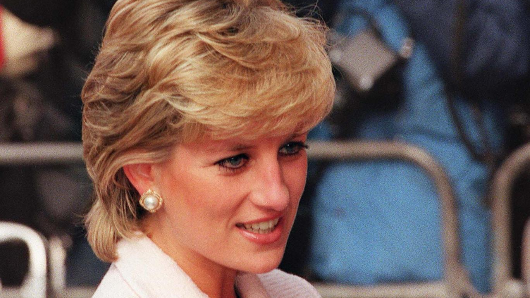 Princess Diana 'threw herself down the stairs while pregnant'