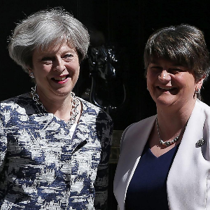 Deal struck with DUP to keep May in power with working majority