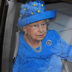 Someone snitched on the Queen to the police