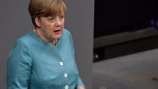 Merkel's promise to Trump scared the whole world