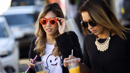 Here's how millennials spend their money, compared to their parents