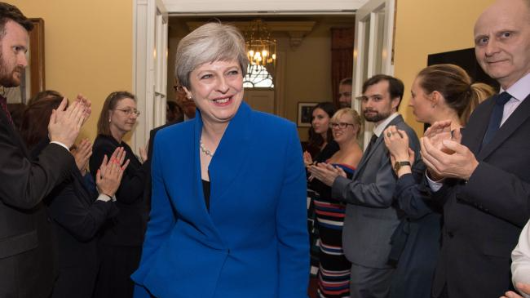 May a 'dead woman walking' as UK election battle rages on