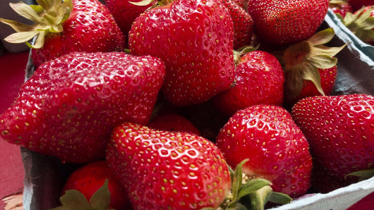 100kg of strawberries coated in 'poison' stolen from farm