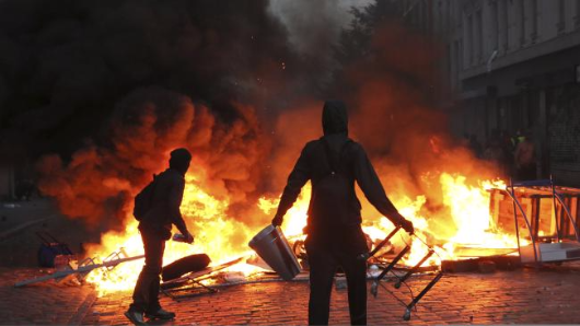 G20 chaos as rioters turn violent