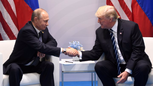 Trump, Putin criticised for exclusive nature of first face-to-face meeting
