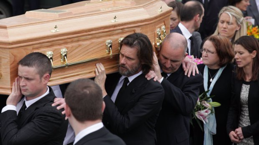 Jim Carrey accused of failing to pay for ex-girlfriend's funeral