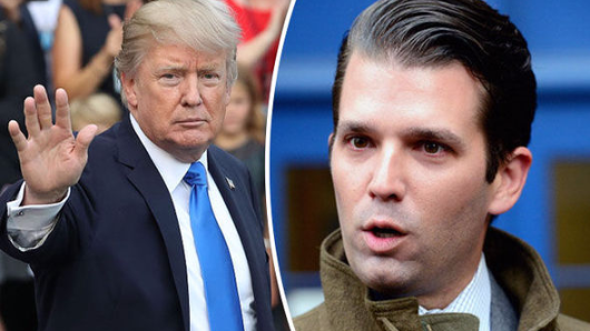 Donald Trump defends son's meeting with Russian lawyer