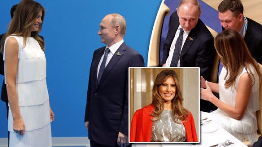 Secret chat of Melania Trump and Putin