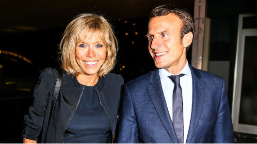 Macron could hardly hide shock after Trump's words about his wife