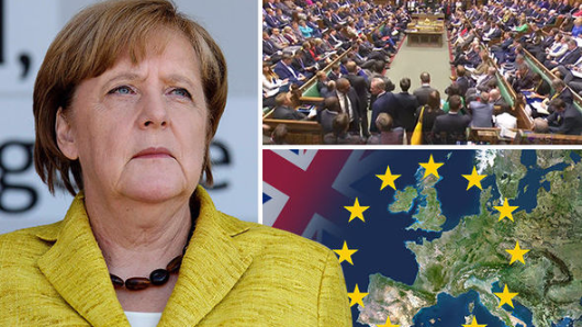 Germany lashes out at UK
