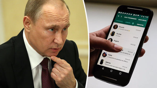 Putin to censor websites and WhatsApps criticising Russia in Soviet-style crackdown