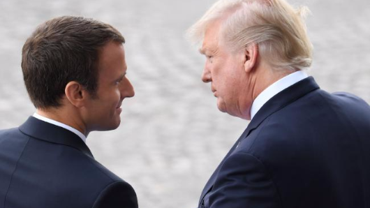 Macron: 'Trump listened to me'