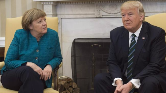 Trump demands money from Germany