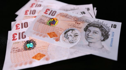 When is the new £10 note coming out?