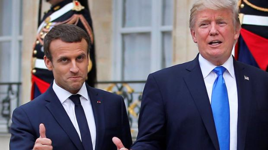 Trump and Macron discuss Syria's future