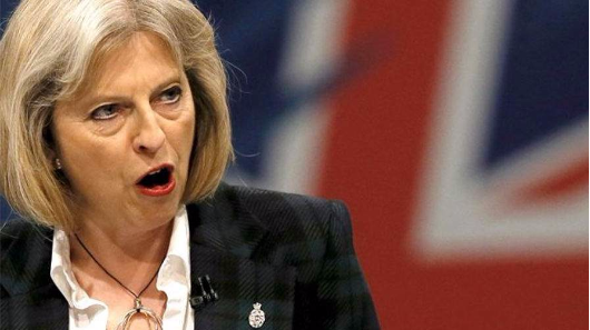 Theresa May 'delaying report on funding of extremism'