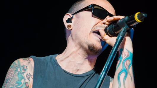 Linkin Park singer Chester Bennington hints at suicidal thoughts in chilling lyrics from one of his final songs