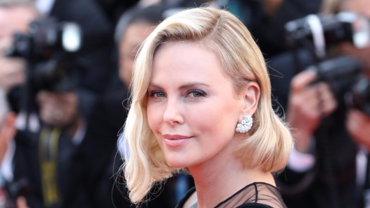 The shady side of Charlize Theron