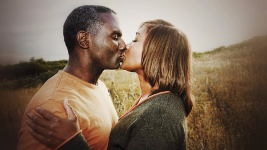 Why we close our eyes to kiss