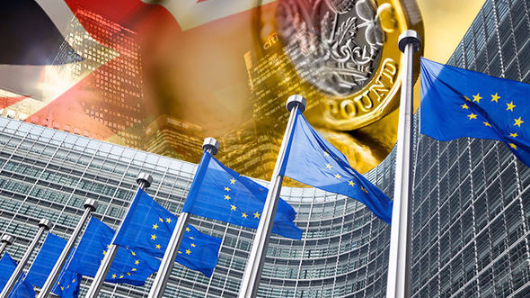Eurocrats want Britain to pay for basket case EU economies crippled by Euro