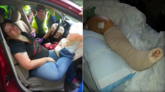 Why you should never put your feet up on the dashboard of a car