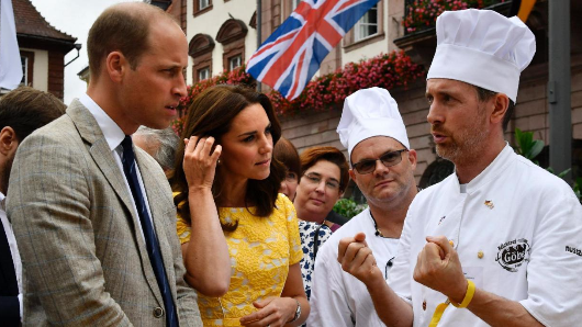 The food the royal family is banned from eating