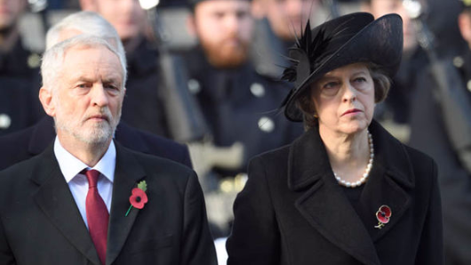 The difference between Theresa May and Jeremy Corbyn in 8 pictures