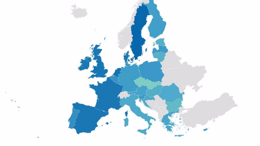 These shocking maps reveal which European countries are the most racist