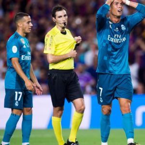 Real Madrid star banned for five games after red card