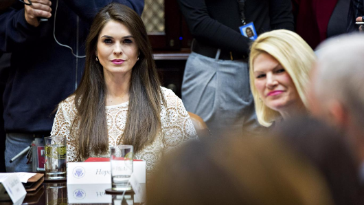 Trump names Hope Hicks as White House Communications Director