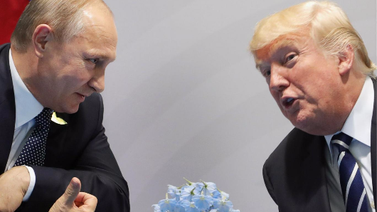 US allies think Trump is less trustworthy than Putin, poll shows
