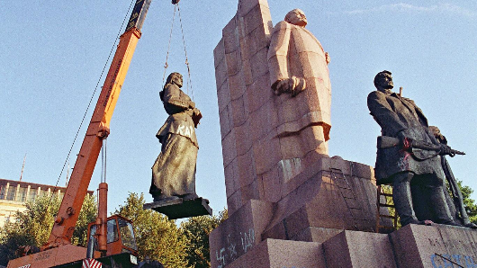 Ukraine has removed all 1,320 statues of Lenin