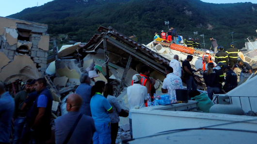 Deadly earthquake rocks Italy