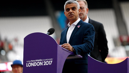 Sadiq Khan delivers defiant speech praising London's openness