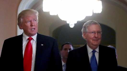 McConnell 'uncertain Trump will be able to salvage his administration'