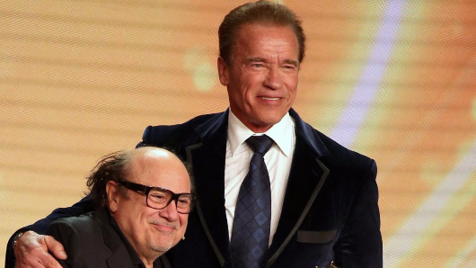 Danny DeVito saved this man's life - and now Arnold Schwarzenegger is passing on his message