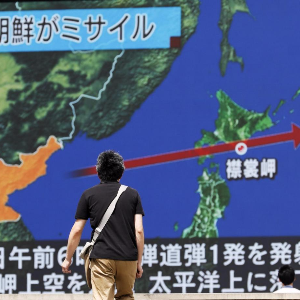 Millions in Japan ordered to 'take cover' as North Korea fires missile