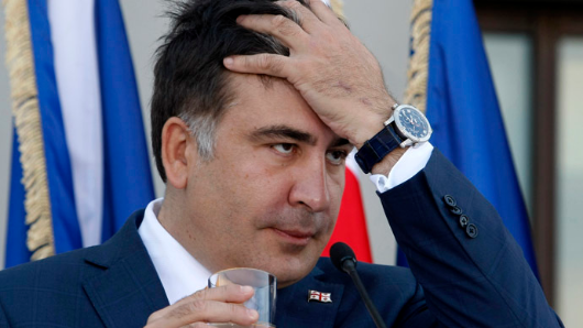 Stateless Saakashvili forces his way into Ukraine