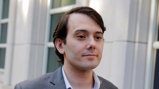 'Most hated man in America' Martin Shkreli to be jailed over Clinton hair threat