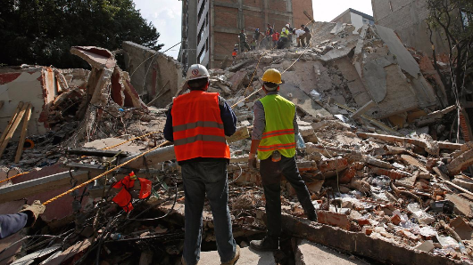 At least 248 people dead after huge earthquake strikes Mexico City