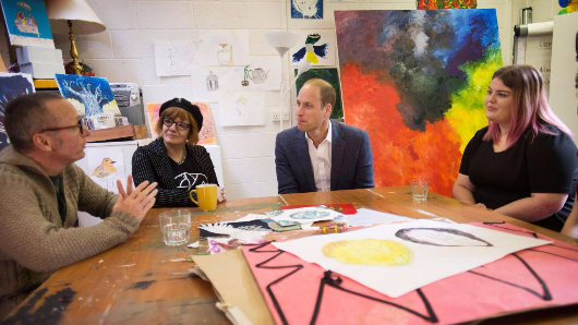 Prince William asks if drugs should be legalised