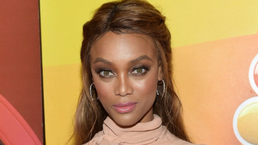Tyra Banks says 'large forehead' saved her modeling career