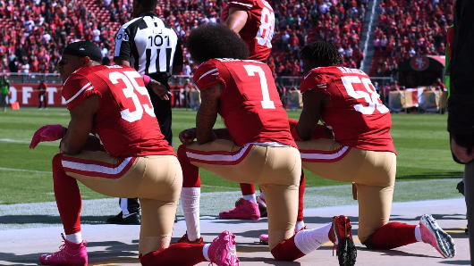 People are saying Trump's 'son of a b****' comments about Kaepernick prove something very sinister