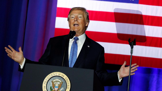 Trump outlines plans for massive tax cuts