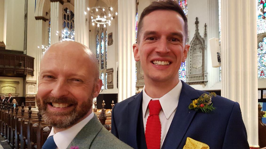 Church faces punishment after becoming first to host same-sex wedding