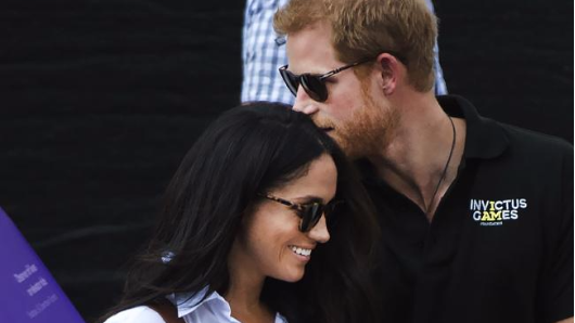 Harry, Meghan make their love public