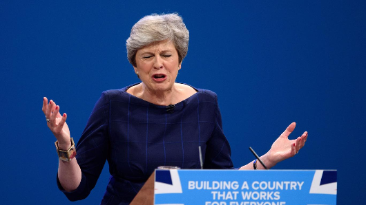 Theresa May knows her party can't get rid of her – yet