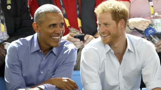 Obama and Harry's Invictus Games bromance