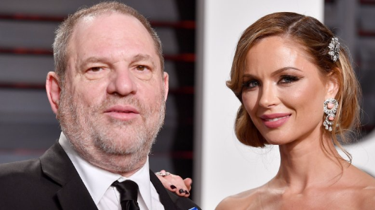 Harvey Weinstein's wife leaves him amid sexual harassment scandal