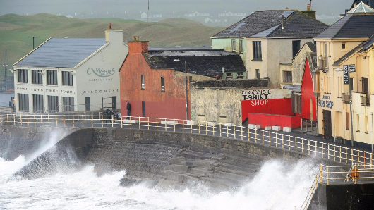 Storm Ophelia kills three people as high winds wreak havoc